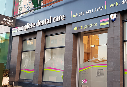 Complete Dental Care frontage